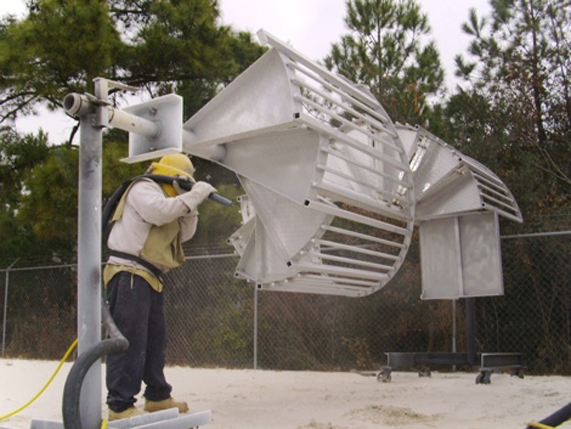 Sandblasting can occur naturally usually as a result of particles blown by wind causing aeolian erosion or artificially using compressed air. & Media Blasting - Live Wire